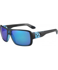 Cebe L.A.M Matt Black 1500 Grey Flash Mirror Blue Sunglasses