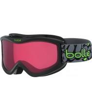 Bolle 21511 Volt Black Graffiti - Vermillon Ski Goggles - 6 plus Years