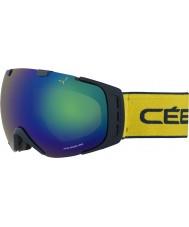 Cebe CBG86 Origins L Blue and Yellow - Brown Flash Blue Ski Goggles