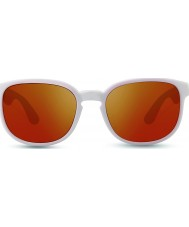 Revo RE1028 Kash White Coral Grey - Open Road Polarized Sunglasses