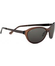 Serengeti Giustina Crystal Dark Brown Polarized PhD CPG Sunglasses