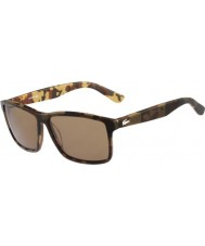 Lacoste Mens L705S Brown Camouflage Sunglasses