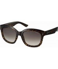 Polaroid Mens PLD4035-S 086 94 Dark Havana Polarized Sunglasses
