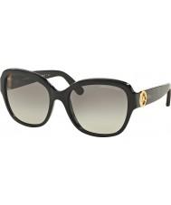 Michael Kors MK6027 55 Tabitha III Black Glitter 309911 Sunglasses