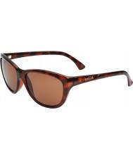 Bolle Greta Shiny Tortoiseshell Polarized A-14 Sunglasses