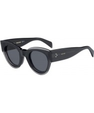 Celine Ladies CL 41447 KB7 IR Sunglasses