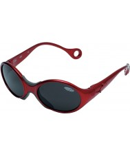 Cebe 1973 (Age 1-3) Shiny Rubidium Red 2000 Grey Sunglasses