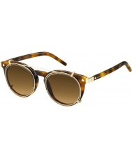 Marc Jacobs MARC 18-S U6J ZX Havana Gold Sunglasses