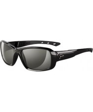 Cebe S-Kiss Shiny Black Sunglasses