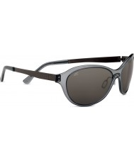 Serengeti Giustina Crystal Dark Grey Polarized PhD CPG Sunglasses