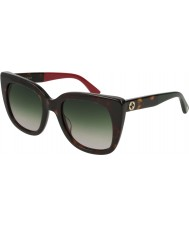 Gucci Ladies GG0163S 004 51 Sunglasses