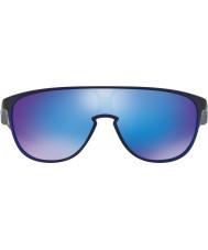 Oakley OO9318-08 Trillbe Matte Translucent Blue - Sapphire Iridium Sunglasses