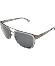 Emporio Armani EA2030 56 Trend Matte Gunmetal 300387 Sunglasses