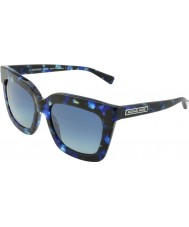 Michael Kors MK2013 53 Glam Blue Marble 30794L Sunglasses