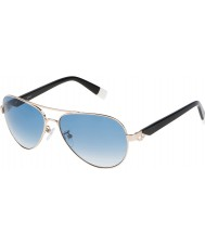 Furla Ladies Jade SU4339S-300 Shiny Rose Gold Mirrored Silver Sunglasses