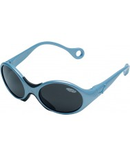 Cebe 1973 (Age 1-3) Shiny Metallic Pale Blue 2000 Grey Sunglasses