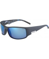 Bolle King Matt Blue Sea Polarized Offshore Blue Sunglasses