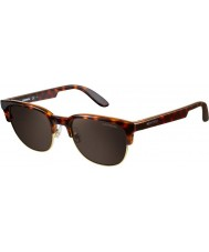 Carrera Carrera 5034-S TEQ X1 Havana Antique Gold Sunglasses