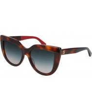 Gucci Ladies GG0164S 004 53 Sunglasses