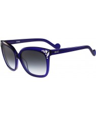 Liu Jo Ladies LJ632SR Diamond Indigo Sunglasses