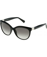 Furla Ladies Zizi SU4896S-700 Shiny Black Sunglasses