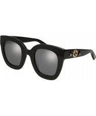 Gucci Ladies GG0208S 002 49 Sunglasses
