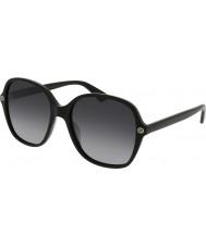 Gucci Ladies GG0092S 001 Sunglasses