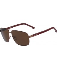 Lacoste Mens L162S Brown Sunglasses