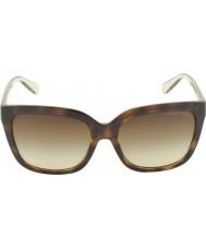 Michael Kors MK6016 54 Glam Tortoiseshell Smokey Transparent 305413 Sunglasses