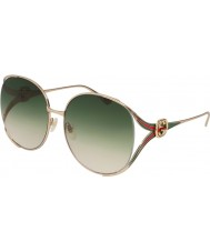 Gucci Ladies GG0225S 003 63 Sunglasses