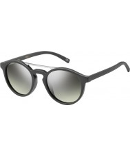 Marc Jacobs MARC 107-S DRD GY Dark Grey Silver Mirror Sunglasses