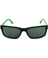 Polo Ralph Lauren PH4076 57 Shiny Black Green 526171 Sunglasses