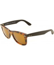 RayBan RB2140 50 Original Wayfarer Havana Brown Effect Aged 1187 Sunglasses