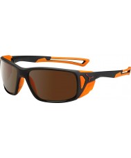 Cebe Proguide Matt Black Orange 2000 Brown Flash Mirror Sunglasses