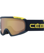 Cebe CBG93 Fanatic L Blue and Yellow - NXT Variochrom Perfo 1-3 Ski Goggles