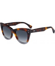 Fendi Ladies FF 0238-S AB8 9O Sunglasses