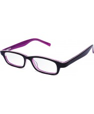 Eyejusters P1C1504PP Purple Pink Adjustable Reading Glasses - 0.00 to 3.00 Strength