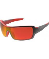 Bolle Diamondback Shiny Black Red TNS Fire Sunglasses