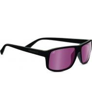 Serengeti Claudio Satin Dark Grey Polarized Sedona Sunglasses