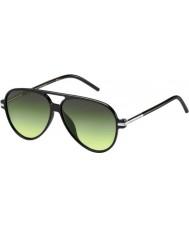 Marc Jacobs MARC 44-S D28 IB Shiny Black Sunglasses
