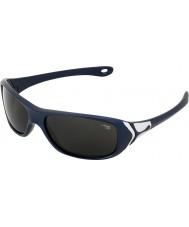 Cebe Captain (Age 7-9) Metallic Night Blue 2000 Grey Sunglasses