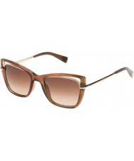 Furla Ladies Miranda SU4960-0G67 Shiny Gradient Brown Sunglasses