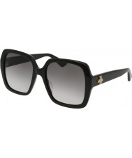 Gucci Ladies GG0096S 001 Sunglasses