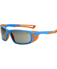Cebe Proguide Matt Blue Orange Variochrom Peak Sunglasses