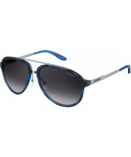Carrera Mens Carrera 96-S TJU 9C Blue Havana Dark Ruthenium Sunglasses