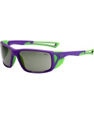 Cebe Proguide Purple Green Variochrom Peak Sunglasses