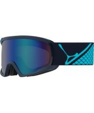Cebe CBG96 Fanatic L Blue Tones - Brown Flash Blue Ski Goggles