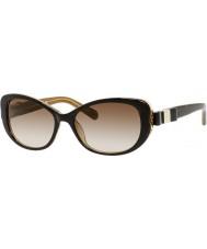 Kate Spade New York Ladies Chandra-S Y1G Y6 Havana Gold Sunglasses