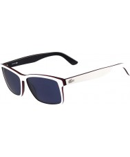 Lacoste Mens L705S White Sunglasses