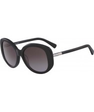 Longchamp Ladies LO601S 001 55 Sunglasses
